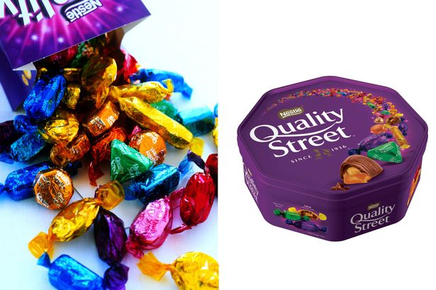 Man counts up contents of Quality Street tin and leaves people absolutely fuming